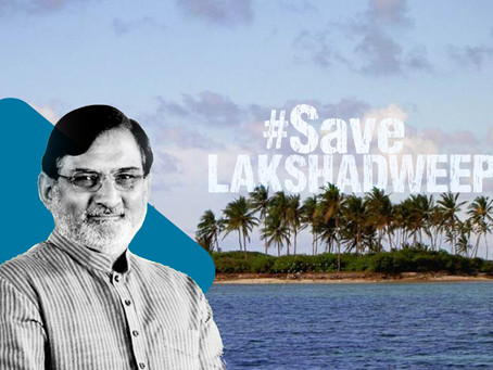 Is Lakshadweep safe?: administrative crisis in peaceful island-: