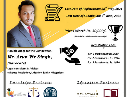 1st National Memorial Drafting Competition