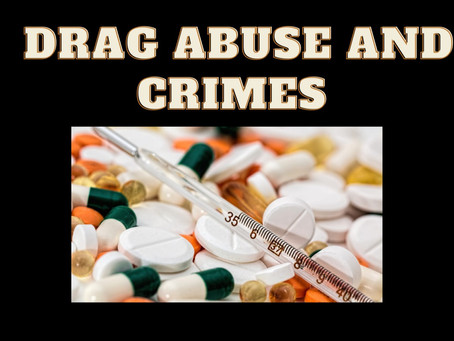 Drug abuse and crimes: can the society break this connection with the help of laws