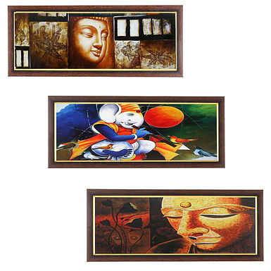 WENS Dharmik Wall painting