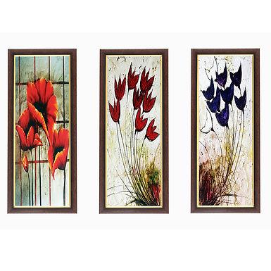 WENS Beautiful Flower Muticolr Wall Painting