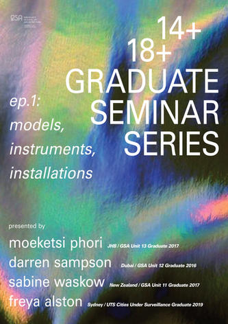 Episode 1: Models, Instruments, Installations