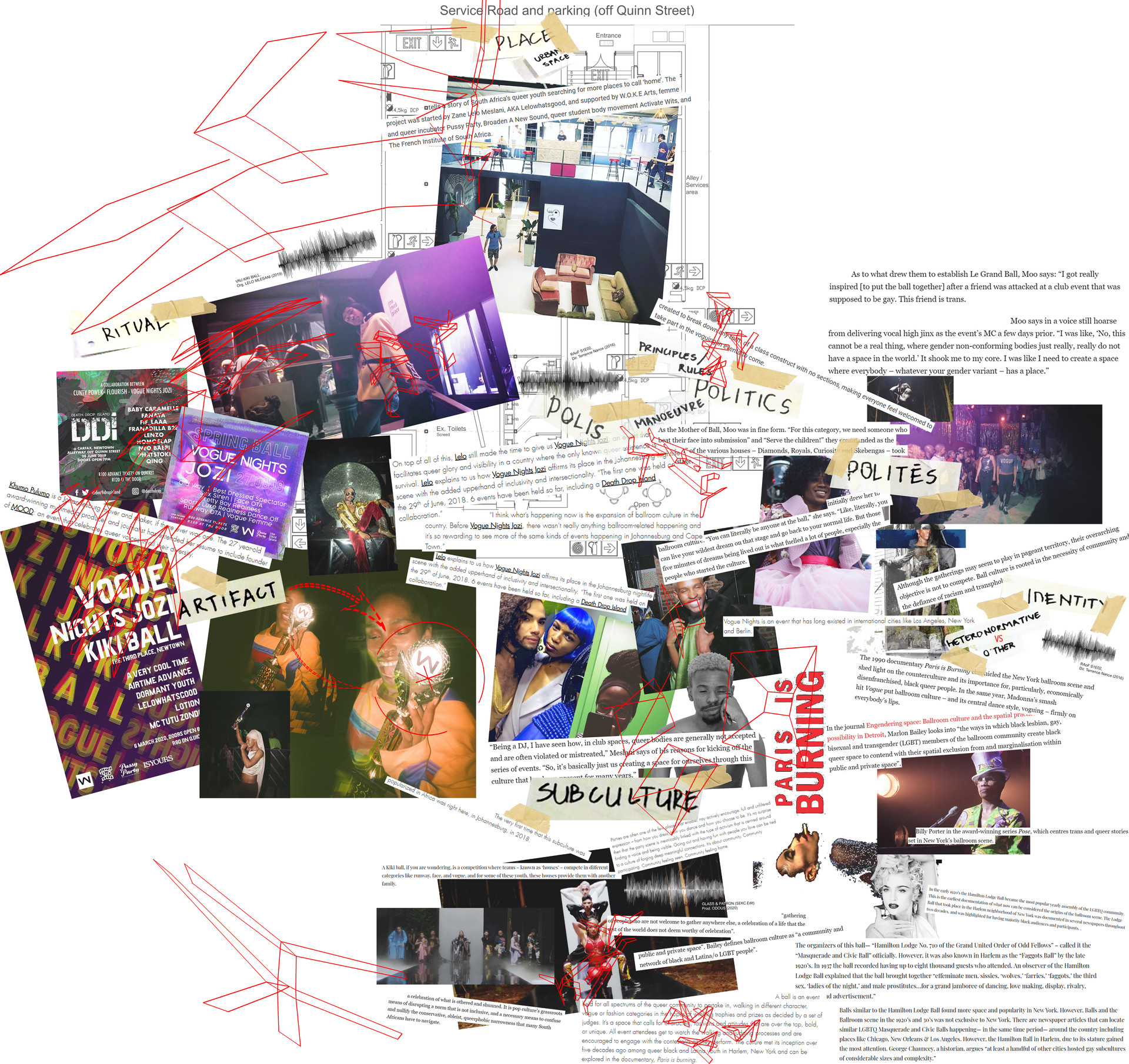 Mapping the Intersectional Vogue Nights, Jozi