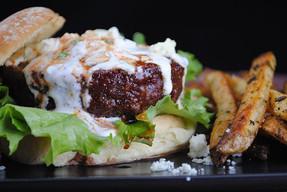 Blue Cheese Buffalo Burger