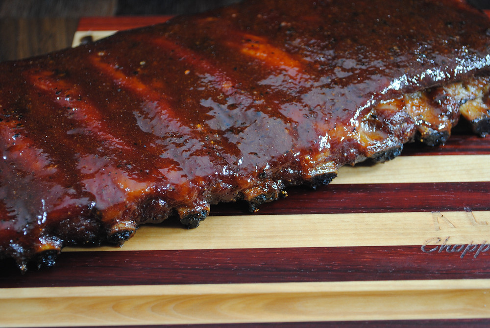 St. Louis style ribs cooked be Freedomsohard