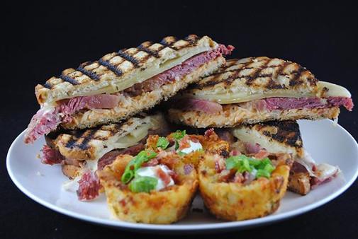 BBQ Reuben Sandwiches