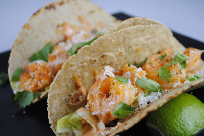 Simple Shrimp Tacos Recipe