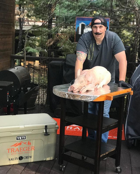 Tomorrow's _traegergrills suckling pig prep has began..jpgMy boy _kendrick_bbq and I will be throwing this down first thing in the morning...jpg