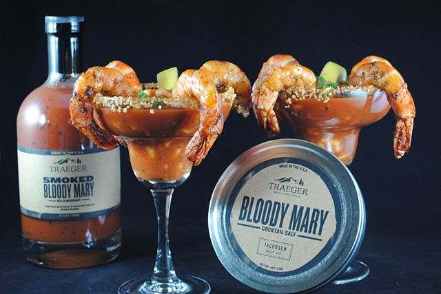 Smoked Bloody Mary Shrimp Cocktail by Freedomsohard