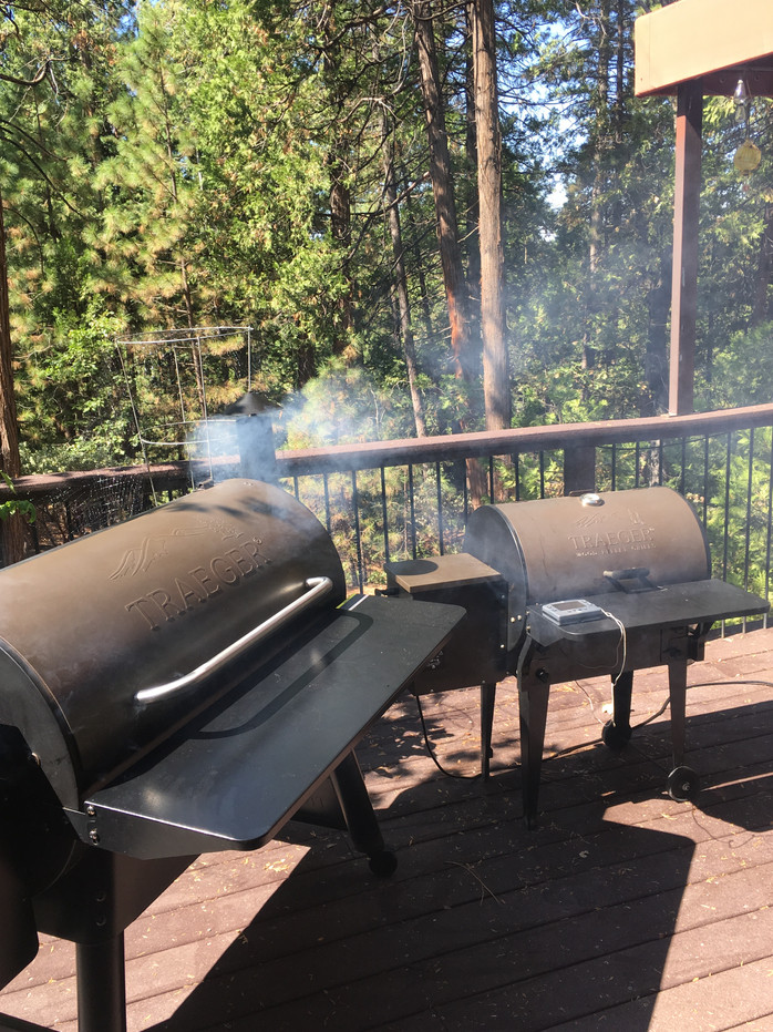Traeger. Does Size Matter?