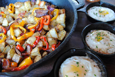Smoked Breakfast Skillet