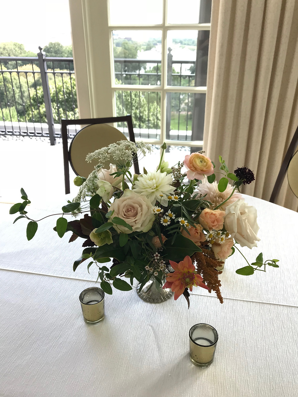 Hay-Adams Hotel Wedding florals Washington DC