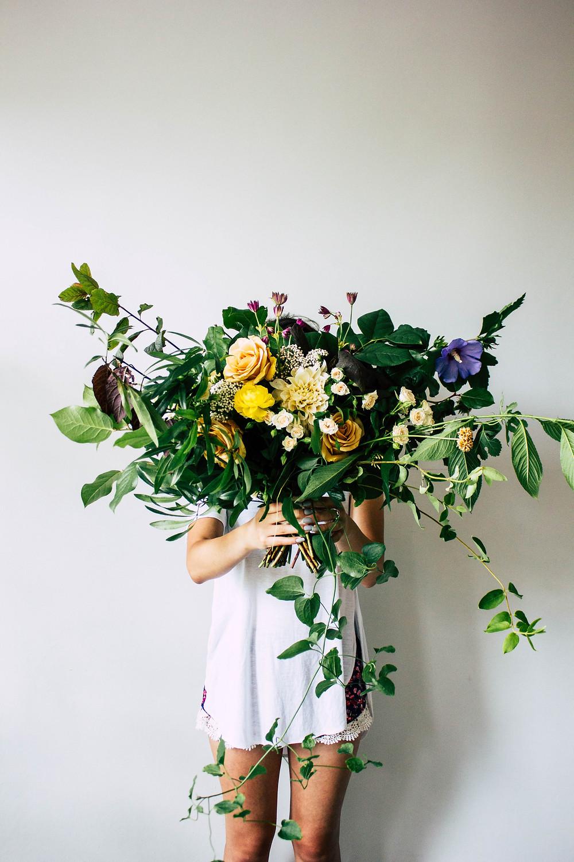 Huge Bouquet, Casa Delirio. Bouquets with dahlias