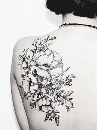 Moda: Tatuajes de flores