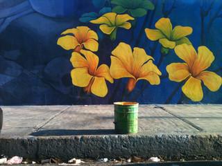 Jamaica flower market in Mexico City