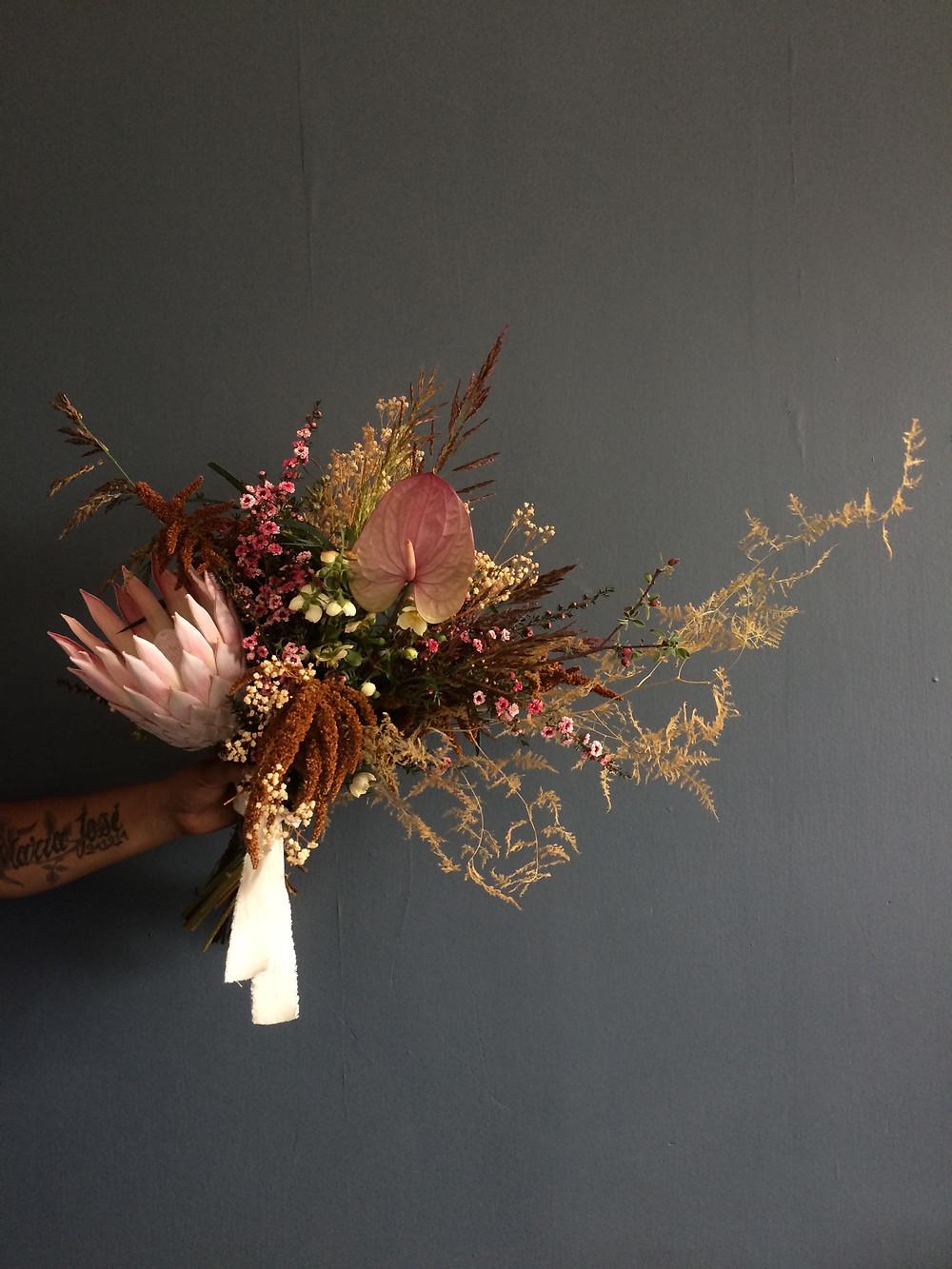 Bouquet with Protea Casa Delirio