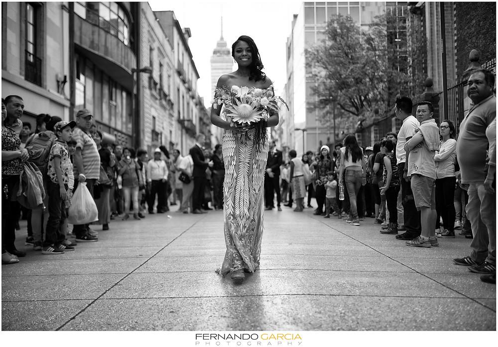 Wedding Mexico City Downtown