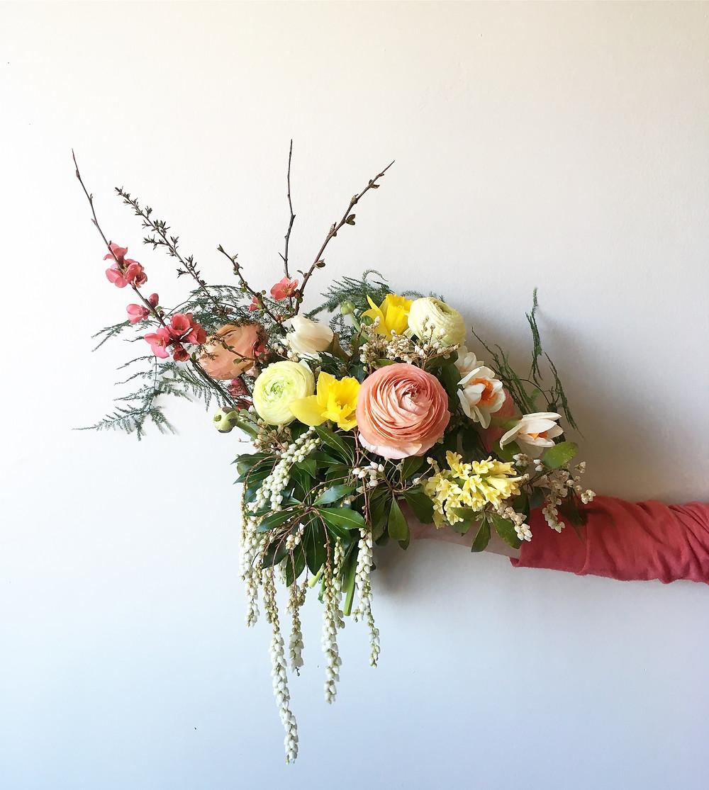Best Bouquet casa delirio flores. Ranunculus bouquet