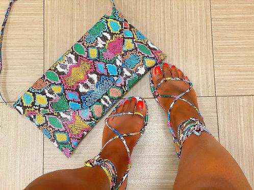 Adee MultiSnake Sandal