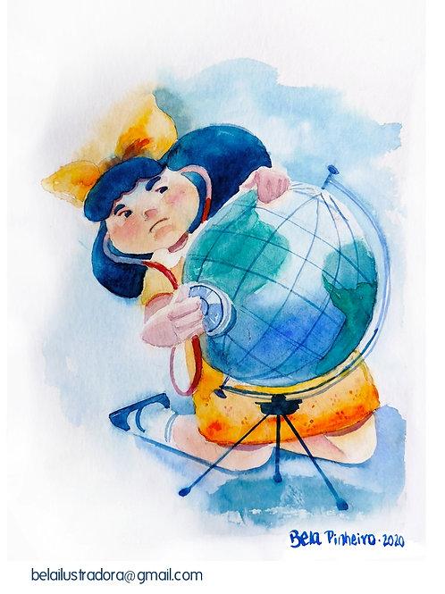 Mafalda - El mundo está enfermo