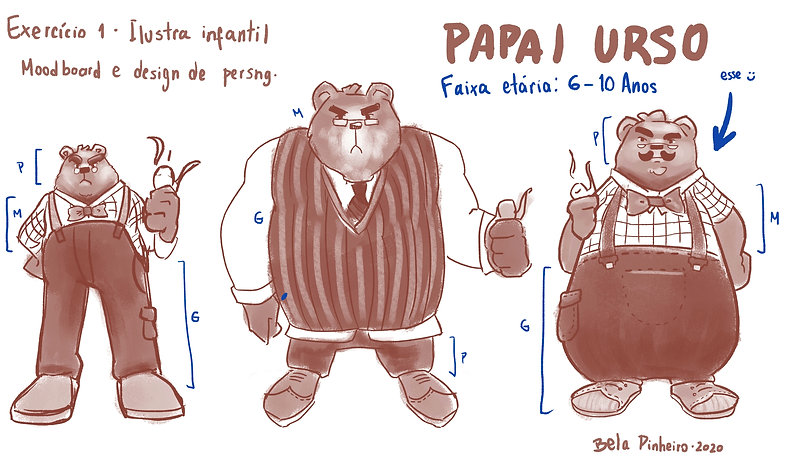 Exercício 1 - Design de Personagem - Pap