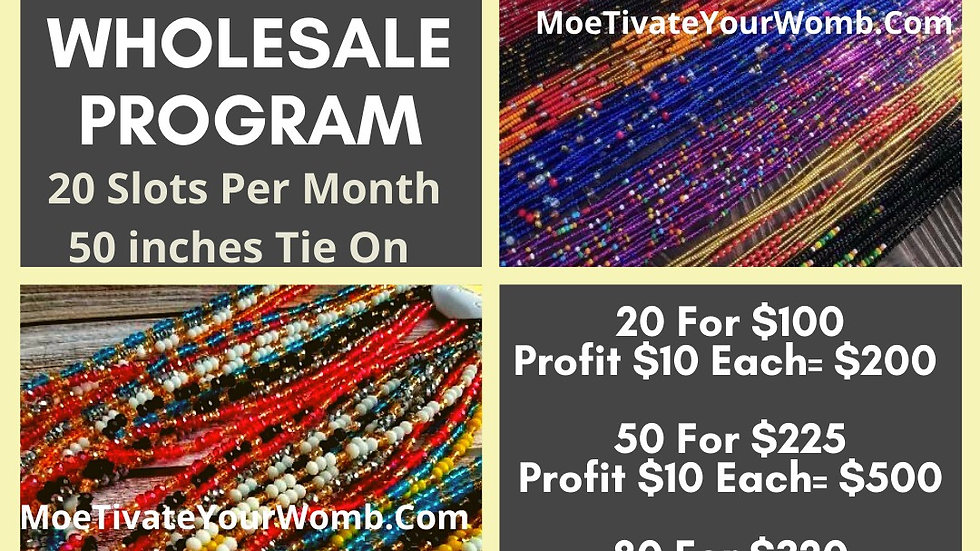 Waist Beads-Wholesale Only
