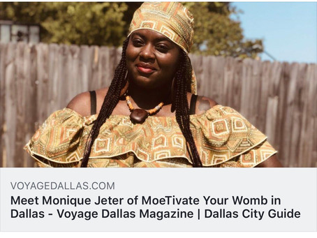 Giving Thanks To The Most High-  Check Out My Voyage Dallas Article
