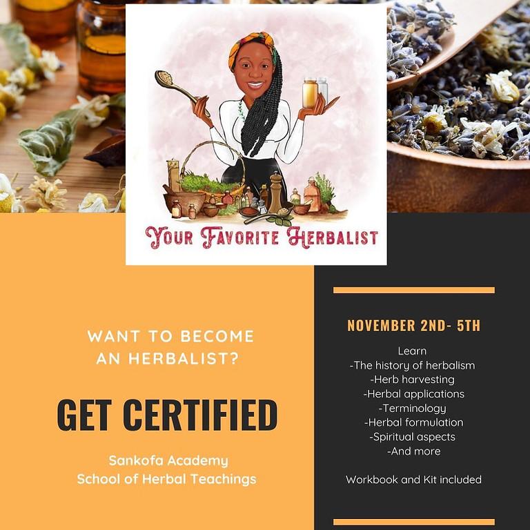 Certified Herbalist