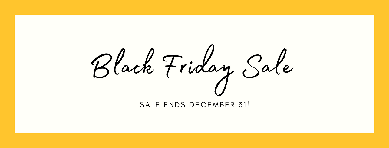 Black Friday Clothing Sale Email Header.