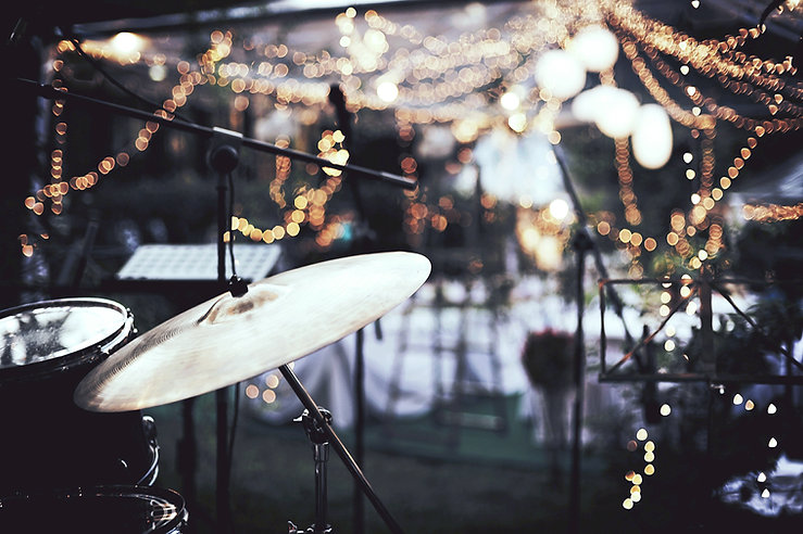 Band Playing Outdoor Event