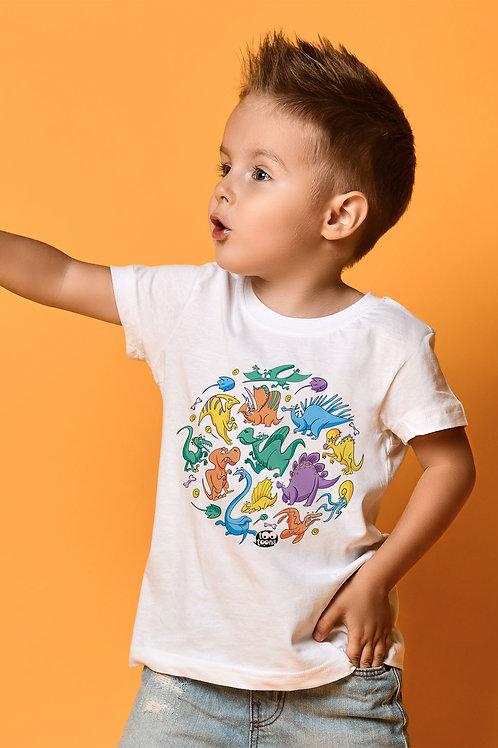 Tee-shirt Enfant et Ado Dino