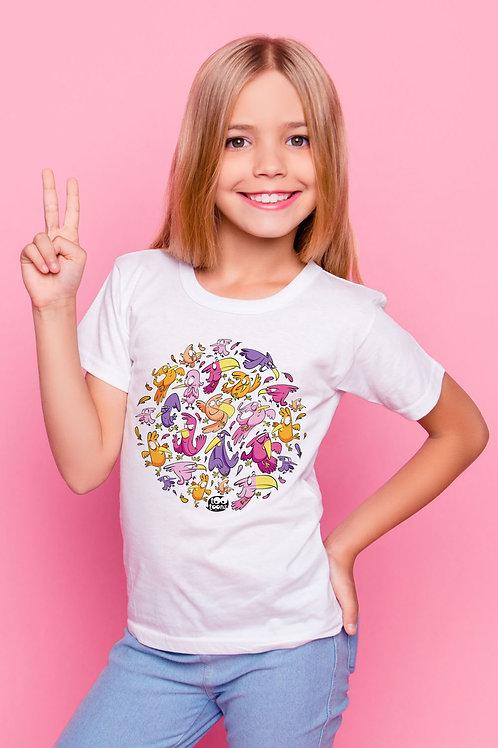 Tee-shirt Enfant et Ado personnalisable Birdy