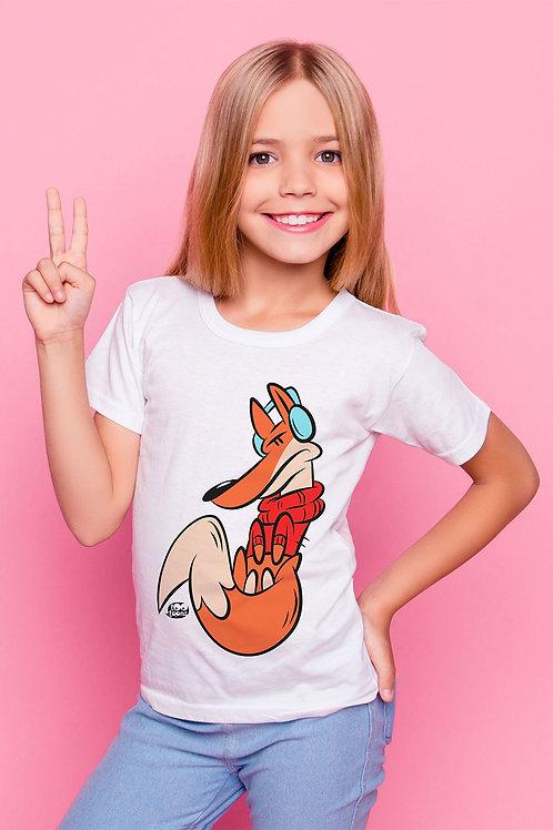 Tee-shirt Enfant et Ado personnalisable Foxy - 2 Taille d'illustration