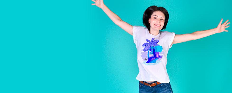 Tee-shirt femme et enfant, Sweat, Tote-bag et Body bébé personnalisables cartoon Tootoons