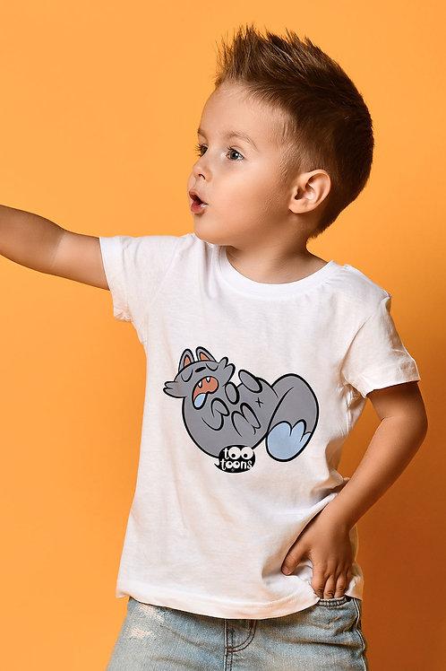 Tee-shirt Enfant et Ado personnalisable Ontheback Cat - 2 tailles d'illustration