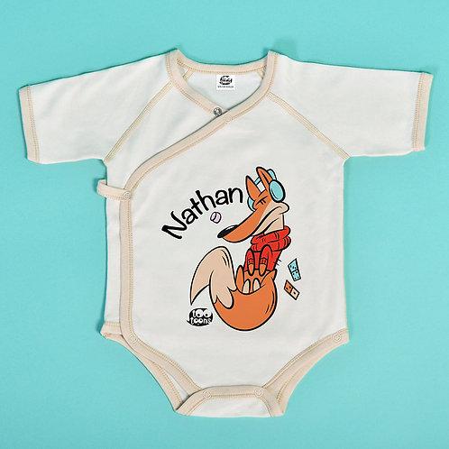 Body Foxy personnalisable avec le prénom de votre enfant !