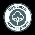 Textile 80% coton bio cartoon Tootoons