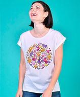 SweaTee-shirt femme cadeau personnalisable cartoon Tootoons