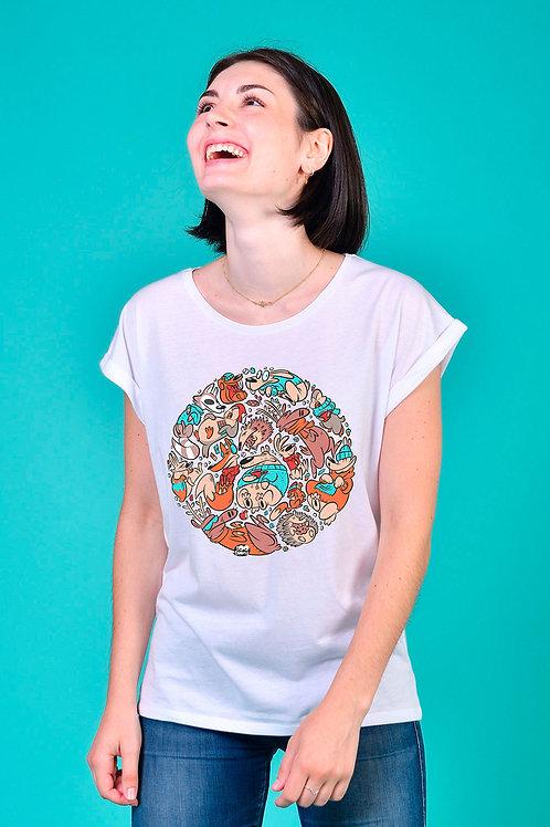 Tee-shirt Femme Snowy