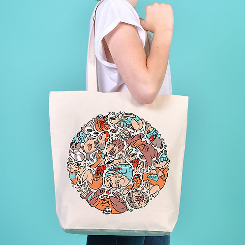 Tote-Bag Snowy