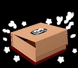 Coffret cadeau 2 ou 3 articles dans une boîte en carton recyclable
