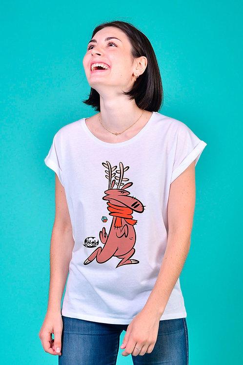 Tee-shirt Femme personnalisable Reindy - 2 tailles d'illustration