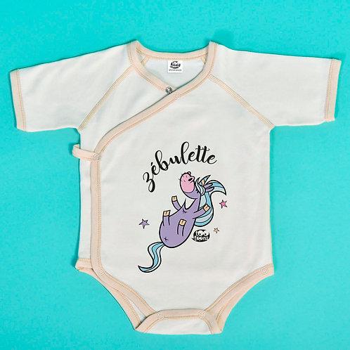 Body Licorn personnalisable avec le prénom de votre enfant !