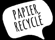 Carnet cartoon en papier recyclé motif cartoon Tootoons