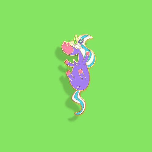 Pin's cartoon Tootoons, modèle Licorne