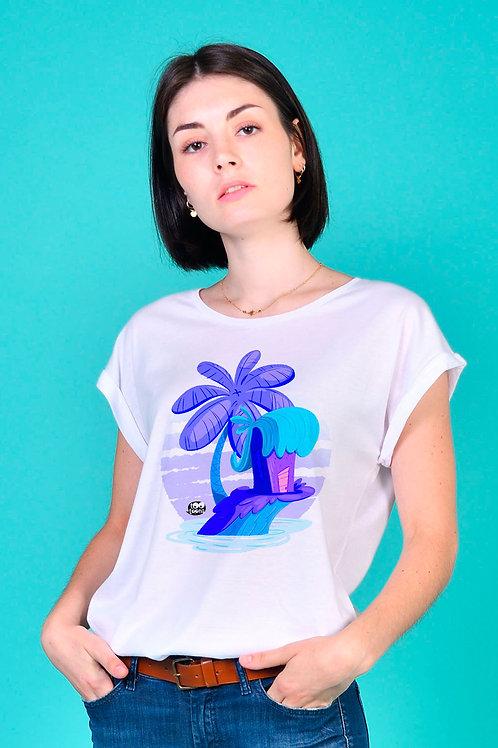 Tee-shirt Femme Île
