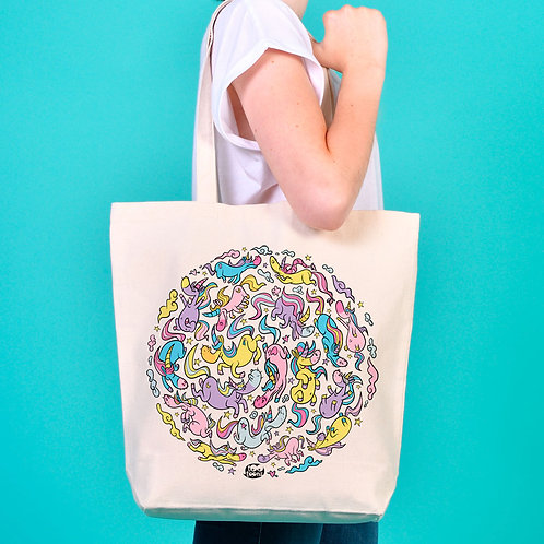 Tote-Bag Licorn