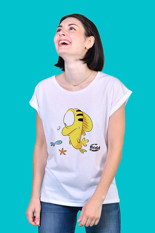 Tee-shirt Femme Fishy - 2 tailles d'illustration