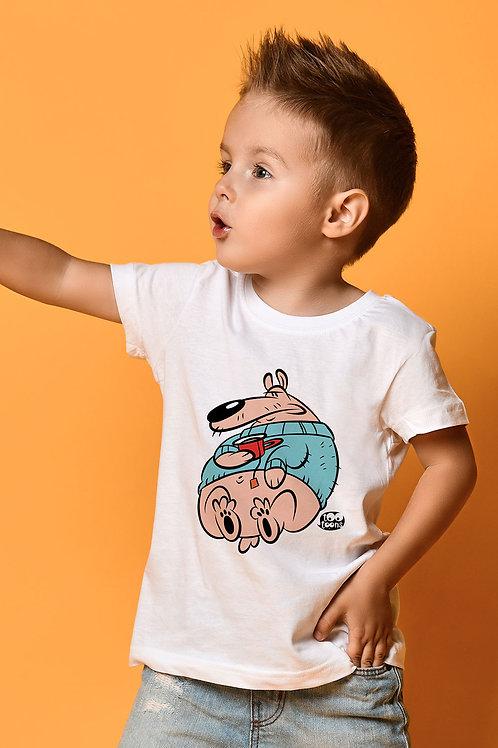 Tee-shirt Enfant et Ado personnalisable Teddy - 2 tailles d'illustration