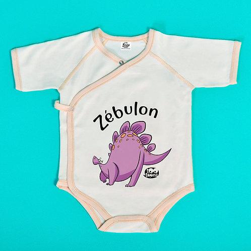 Body Dino personnalisable avec le prénom de votre enfant !